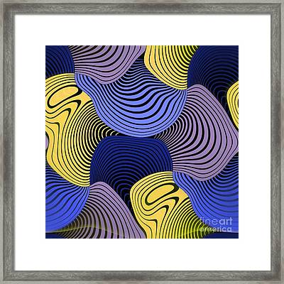 Geometric Gymnastic - 046ac1 Framed Print by Variance Collections