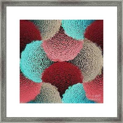 Geometric Gymnastic - 595 Framed Print by Variance Collections