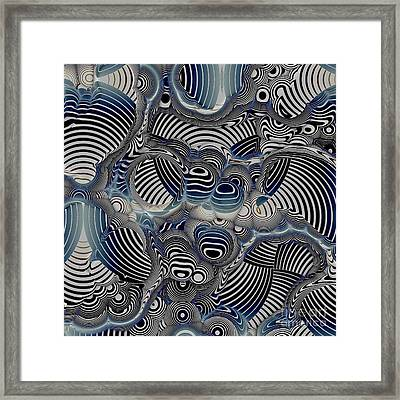 Geometric Gymnastic - S05-0112c Framed Print by Variance Collections