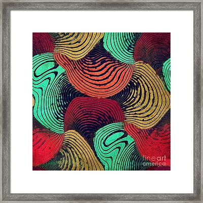 Geometric Gymnastic - W55p20t Framed Print by Variance Collections