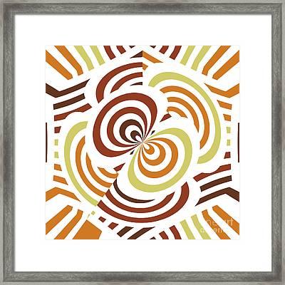 Geometric Infinity Framed Print by Gaspar Avila