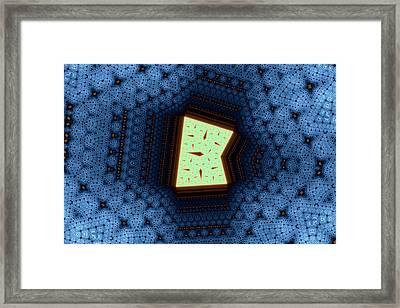 Geometric Patterns No. 50 Framed Print by Mark Eggleston