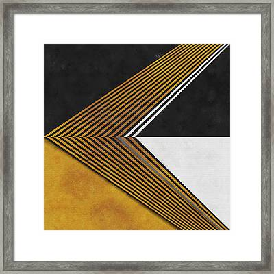 Geometric Soul Framed Print by Francisco Valle