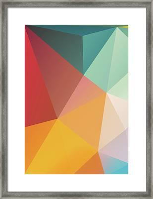 Geometric Xxix Framed Print