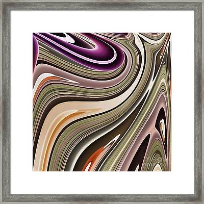Geometrica Framed Print by Mindy Sommers