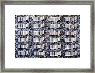 Geometrical Framed Print by Klaus Lenzen