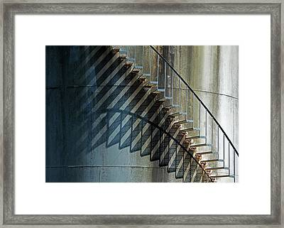 Framed Print featuring the photograph Geometrics by Richard George