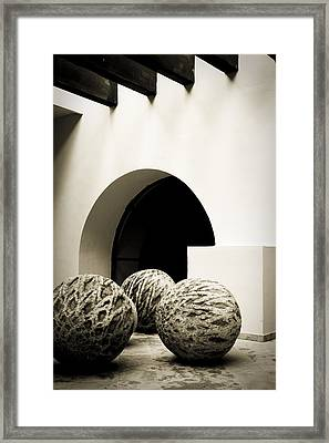 Geometries Framed Print by Levin Rodriguez