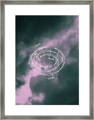 geometry and color XIII Framed Print