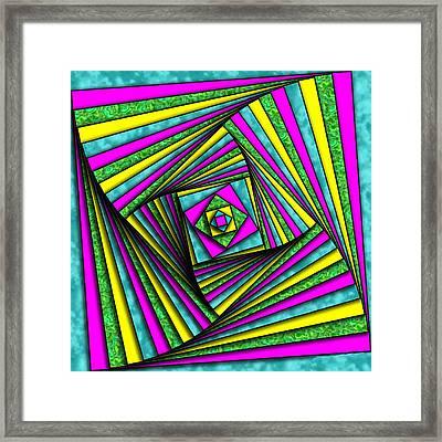 Geometry Art Framed Print