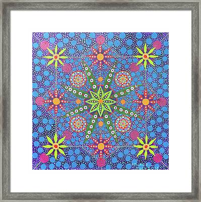 Geometry Of An Arkana Framed Print