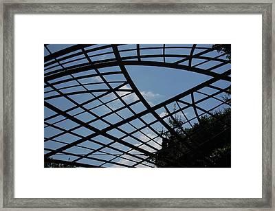 Geometry Framed Print by Siobhan Yost