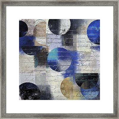 Geomix 01 - 13a Framed Print by Variance Collections
