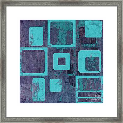 Geomix 02 - Sp06c6b Framed Print by Variance Collections