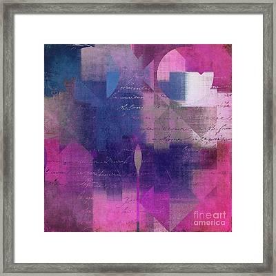 Geomix 04 - 74b Framed Print
