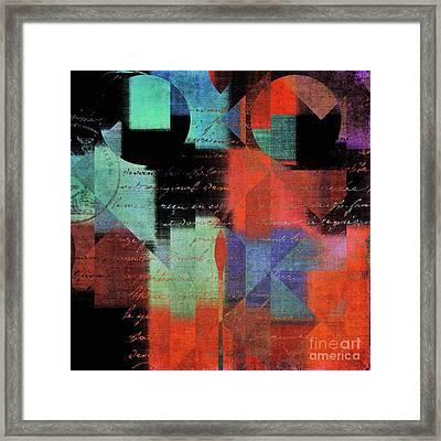 Geomix 04 - 80b Framed Print
