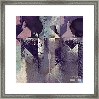 Geomix-04 - C57at22b2e Framed Print by Variance Collections