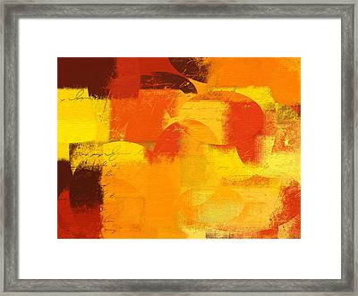 Geomix 05 - 01at01 Framed Print by Variance Collections