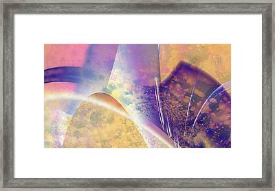Geomorphic Framed Print by Dan Turner