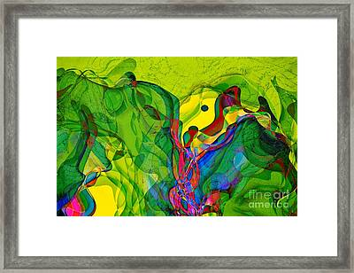 Geomox - 23 Framed Print by Variance Collections