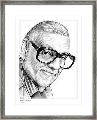 George A. Romero Framed Print