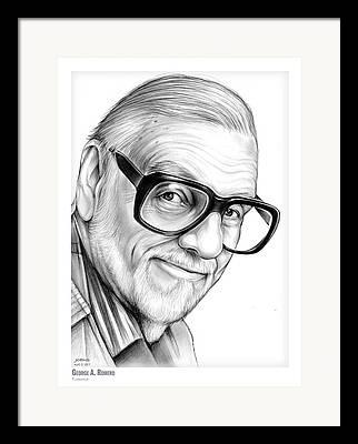George Romero Framed Prints