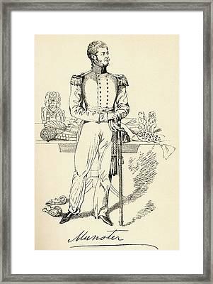 George Augustus Frederick Fitzclarence Framed Print