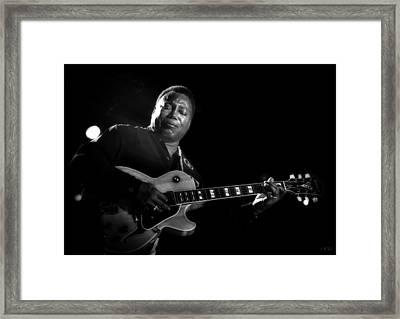 George Benson  Framed Print