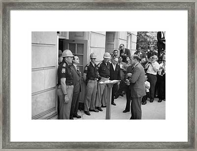 George C. Wallace Framed Print by Granger