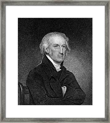 George Clymer (1739-1813) Framed Print