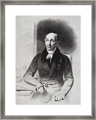 George Dawe Aged 50, 1781-1829. English Framed Print