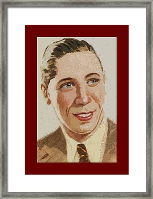 George Formby Framed Print by James Hill