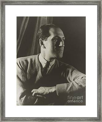 George Gershwin, American Composer Framed Print by Science Source
