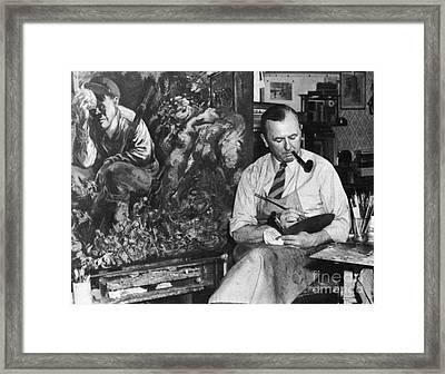 George Grosz (1893-1959) Framed Print by Granger