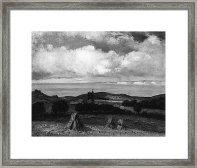 George H Bogert    Chale Isle Of Wight Looking Towards The Needles Framed Print