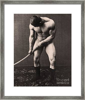 George Hackenschmidt Framed Print by English School