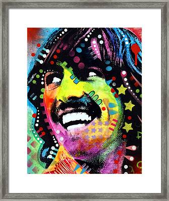 George Harrison Framed Print