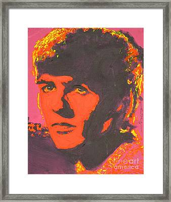 George Harrison Framed Print by Eric Dee