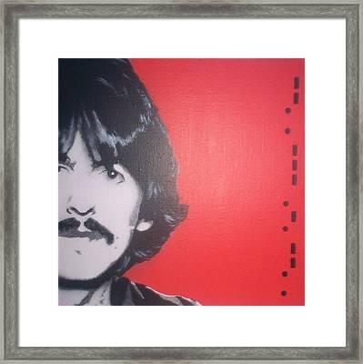 George Harrison Framed Print by Gary Hogben