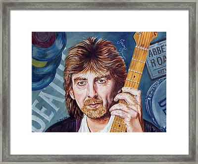 George Harrison Framed Print by Graham Swan