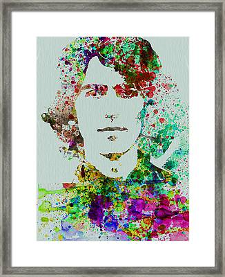 George Harrison Framed Print by Naxart Studio