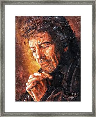 George Framed Print by Igor Postash