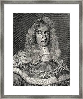 George Jeffreys, 1st Baron Of Wem Aka Framed Print by Vintage Design Pics