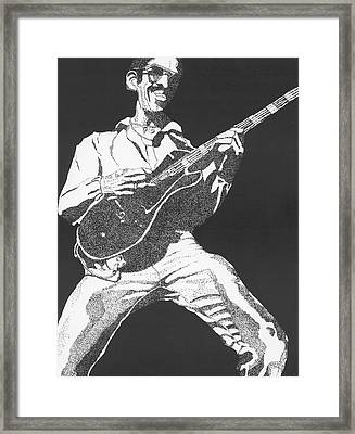 George Johnson Framed Print