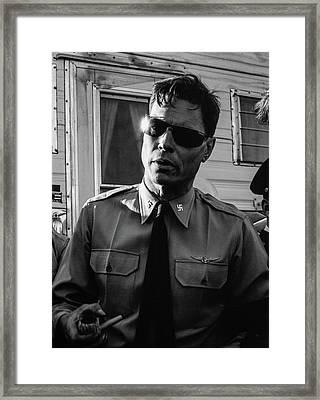George Lincoln Rockwell, Washington Dc, 1965 Framed Print