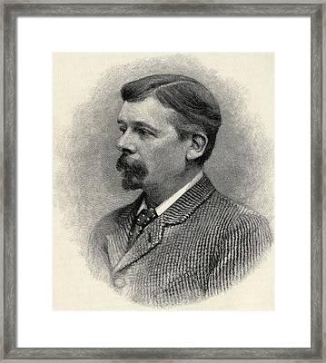 George Louis Palmella Busson Du Maurier Framed Print