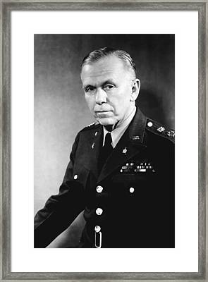 George Marshall Framed Print by War Is Hell Store