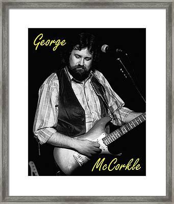 George Mccorkle 2 Framed Print by Ben Upham