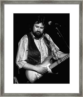 George Mccorkle Framed Print by Ben Upham