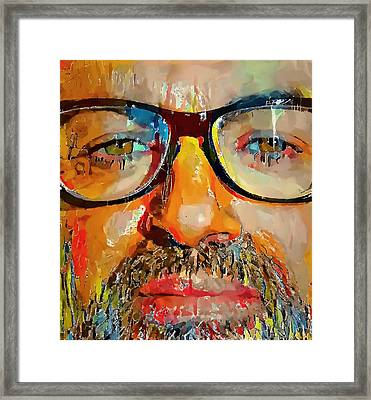 George Michael Tribute 2 Framed Print